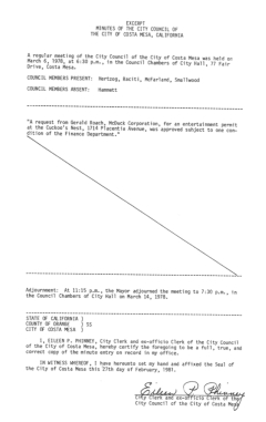 council-minutes-march-6-1978